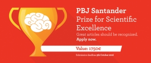 PBJ Santander Prize for Scientific Excellence 2016